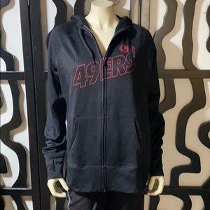 49er Nike Therma-Fit ZIP Sweatshirt